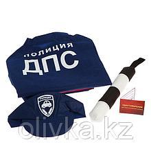 Игровой набор «ДПС 1» куртка, кепка, жезл, удостоверение