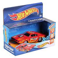 Машина металлическая «Hot Wheels спорткар» 12 см, открываются двери, инерция, световые и звуковые эффекты