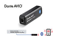 Dante AVIO Bluetooth 2x2 адаптер для подключения к аудиосети Dante, 2 вх./2 вых. канала, Bluetooth - Ethernet