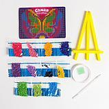 Алмазная мозаика на подставке «Самая красивая!» для детей, размер 10 х 15 см. Набор для творчества, фото 4