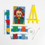 Алмазная мозаика на подставке «Собачка» для детей, размер 10х15 см, фото 4