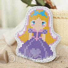 Вышивка крестиком, игрушка «Маленькая красавица». Набор для творчества