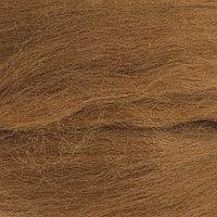 Шерсть для валяния 100% тонкая шерсть 50гр (165 т. бежевый)