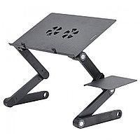 Столик трансформер подставка для ноутбука БЕЗ вентилятора T8