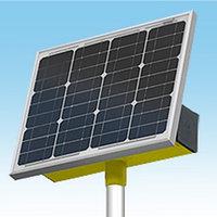 Комплектация солнечной электростанции, суммарной мощностью 30 Вт, 12В