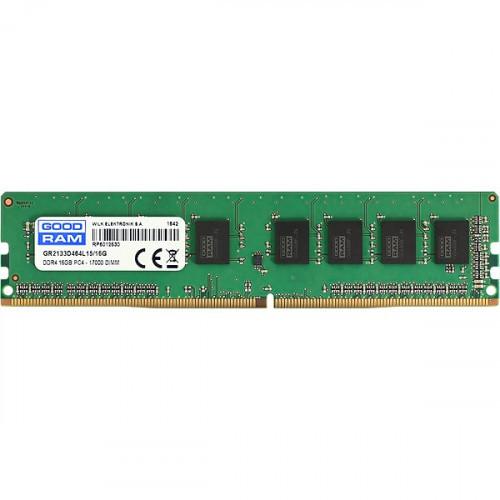 Оперативная память 16GB DDR4 2400Mhz GOODRAM PC4-19200 GR2400D464L17/16G