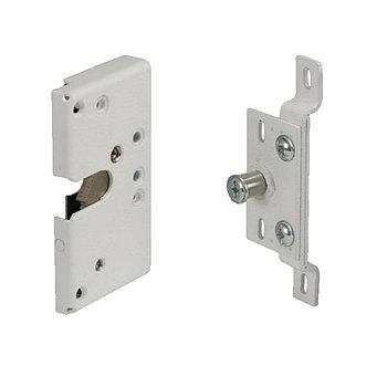 Электромеханический замок Promix-SM305.00, накладной, НО, 12В/0,1А, белый, для пласт. дверей
