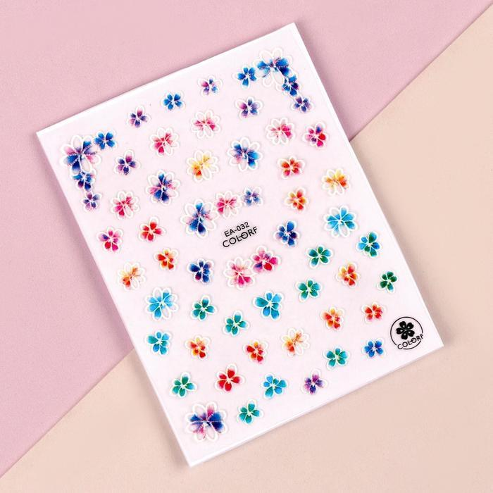 Наклейки для ногтей «Нежность» 5D - фото 1