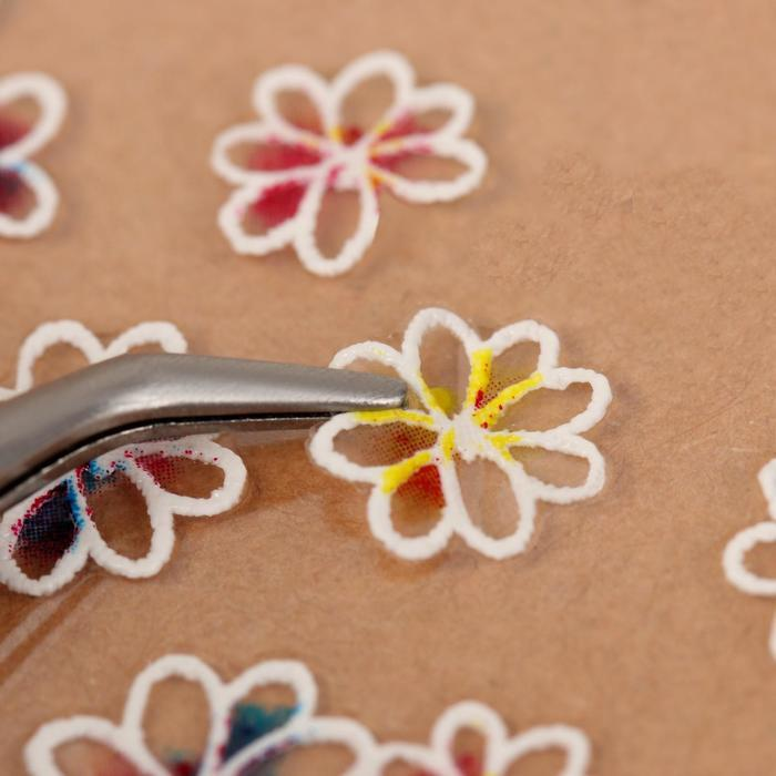 Наклейки для ногтей «Нежность» 5D - фото 2