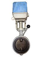 Дисковый поворотный затвор с электроприводом IMI (EU) DR16EVS DN125, M140
