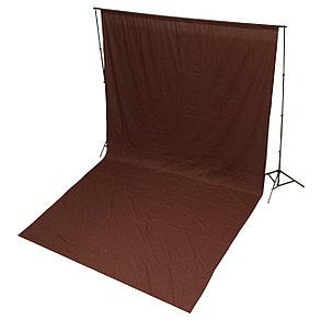 Студийный тканевый фон 4м × 2,3 м коричневый (шоколадный), фото 2
