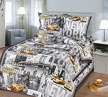 """Постельное бельё """"Нью-Йорк"""", р-р 1,5 спальный"""