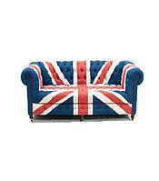 Диван Chesterfield UK flag 2 seater