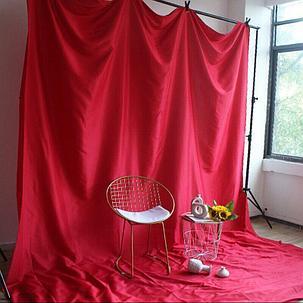 Студийный тканевый фон 2м × 2,3 м арбузно - розовый, фото 2