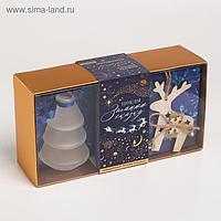 Подарочный набор «Почувствуй зимнюю сказку»: аромадиффузор, ёлочная игрушка
