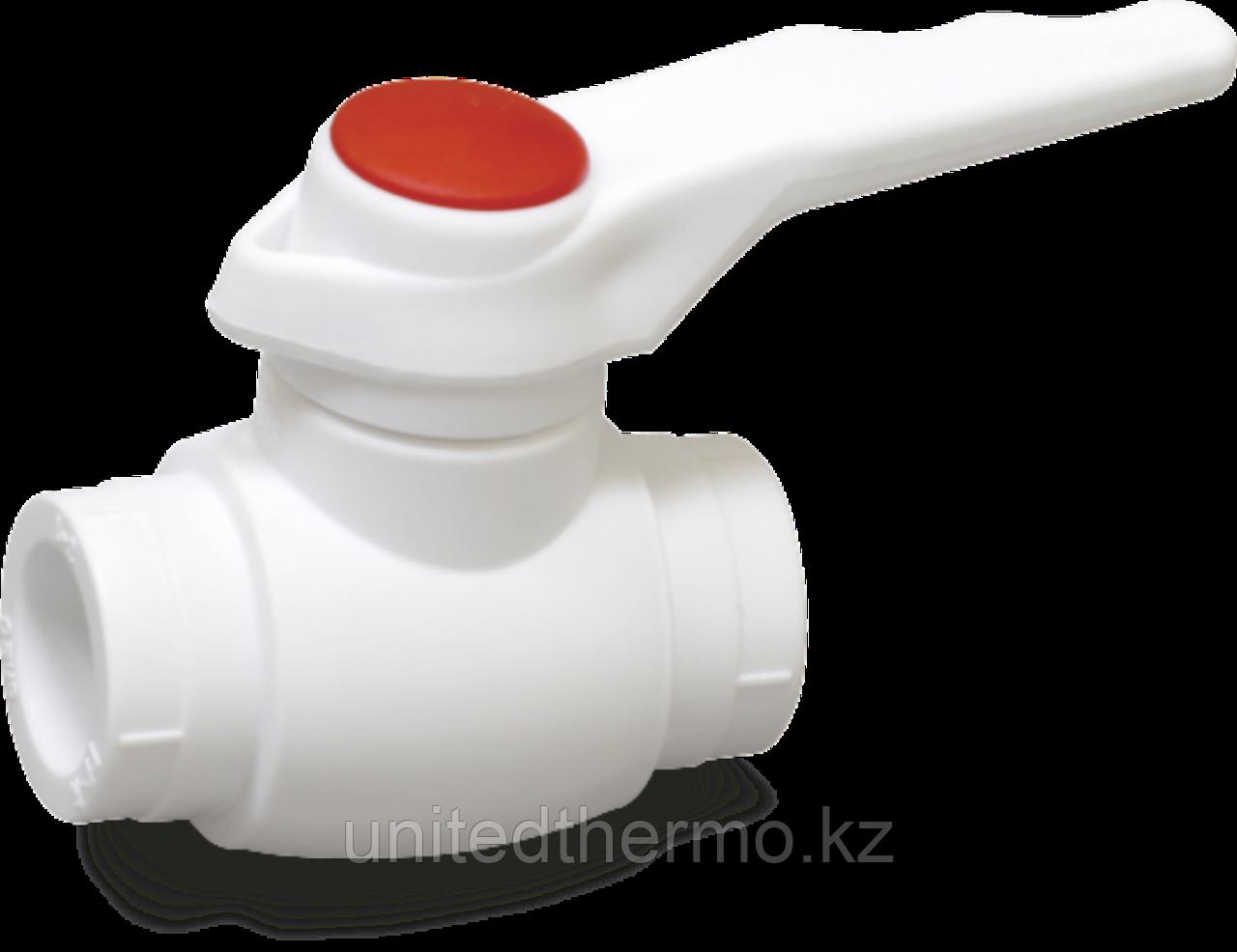 Шаровые краны из ППР 20мм PPSU для горячей воды Fusitek FT07111