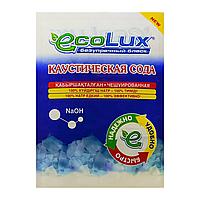 Каустическая сода чешуированная ECOLUX 400г