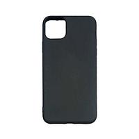 Чехол Apple iPhone 11 Pro Max силикон, черный