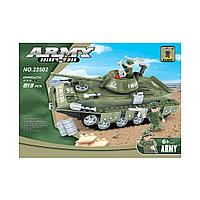 Игровой конструктор Ausini 22502 Армия Средний танк T-80UD 213