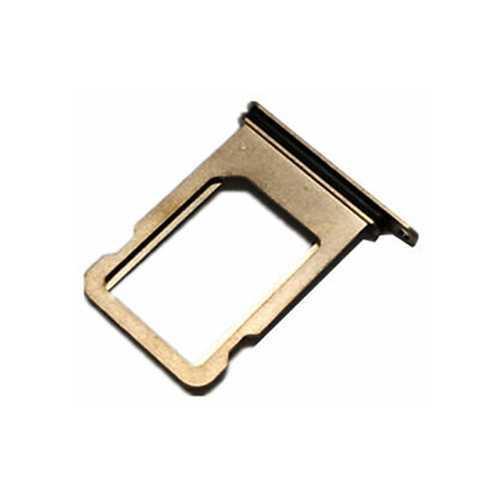 Держатель SIM-карты Apple iPhone XS, золото, оригинал с разбора