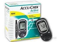 Accu-Chek Active глюкометр + 10 тест-полоски