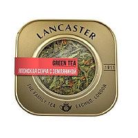 Lancaster зеленый чай Японская сенча с земляникой, 75 гр.