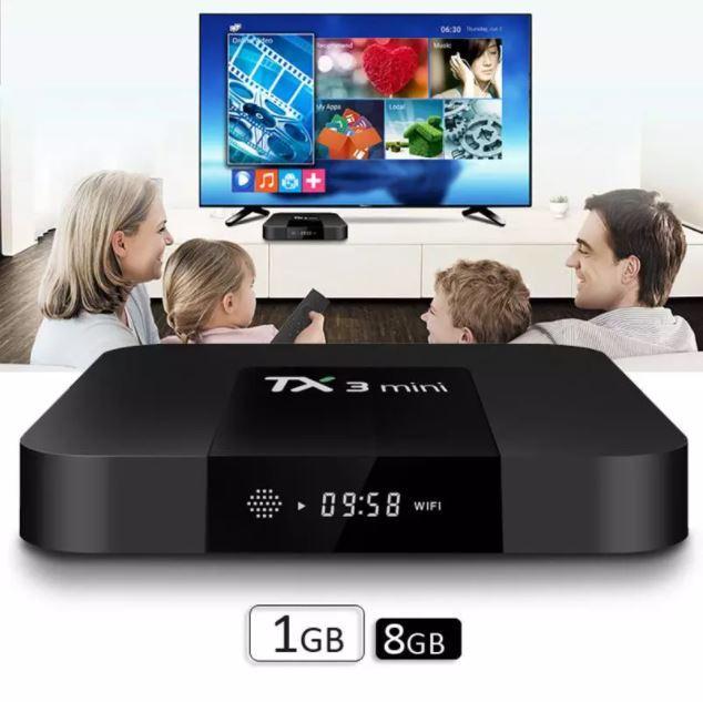 Приставка для телевизора Android Smart TV-Box TX3 MINI.