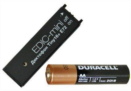Диктофон Edic-mini Tiny16+ E72 - фото 2