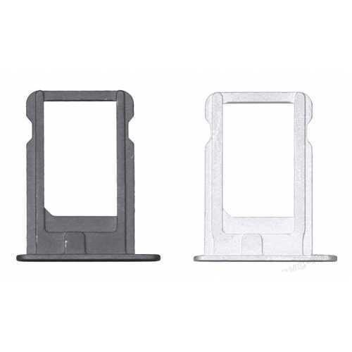 Держатель SIM-карты Apple iPhone 5S, серебро