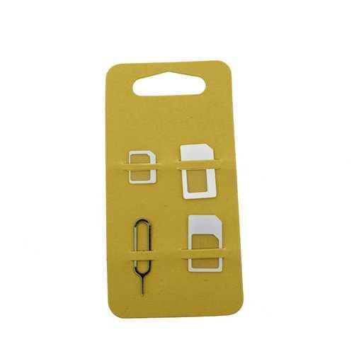 Адаптер (Rock) для Nano SIM и Micro SIM карт 3 в1