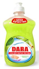 Средство для мытья посуды DARA яблоко 500 мл