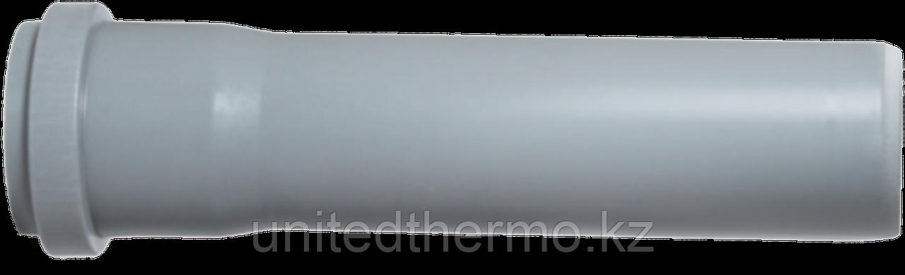 Труба ПП д50*750 (1.8мм) серая