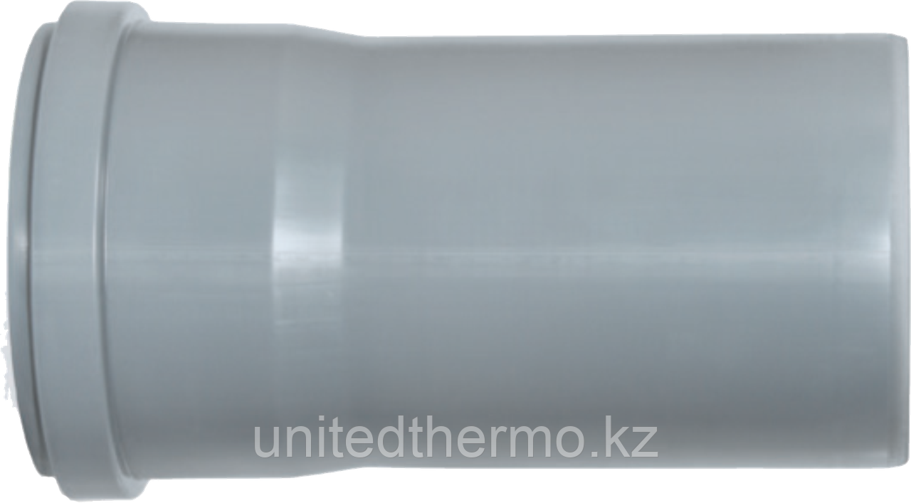 Труба ПП д110*250 (2.7мм) серая