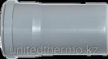 Труба ПП д110*500 (2.7мм) серая