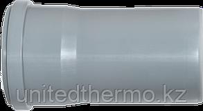Труба ПП д110*3000 (2.7мм) серая