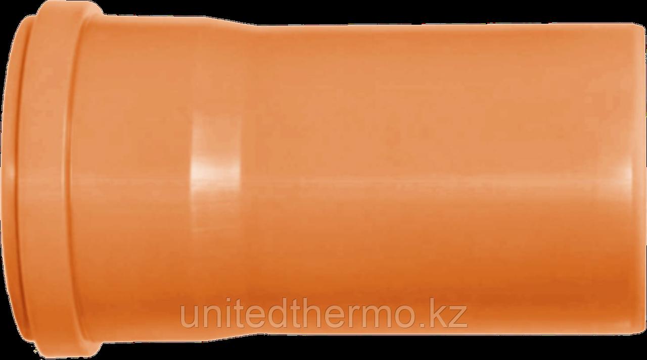 Труба ПП д110*500 (3.4мм) оранжевая