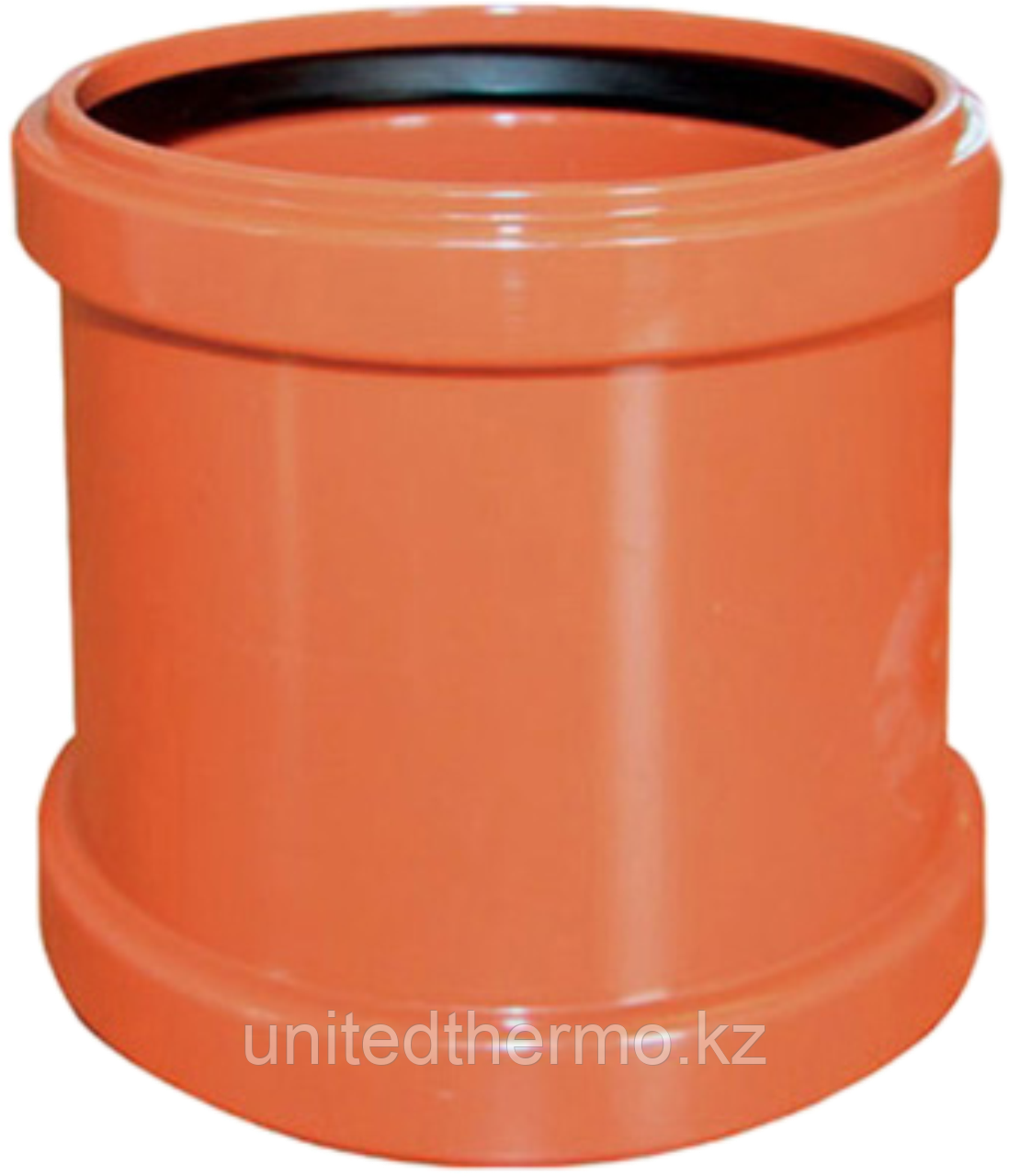 Муфта ПП д110 (3.4мм) оранжевая