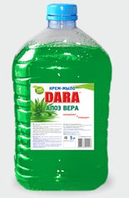 Жидкое крем-мыло DARA (Алоэ вера) 5л