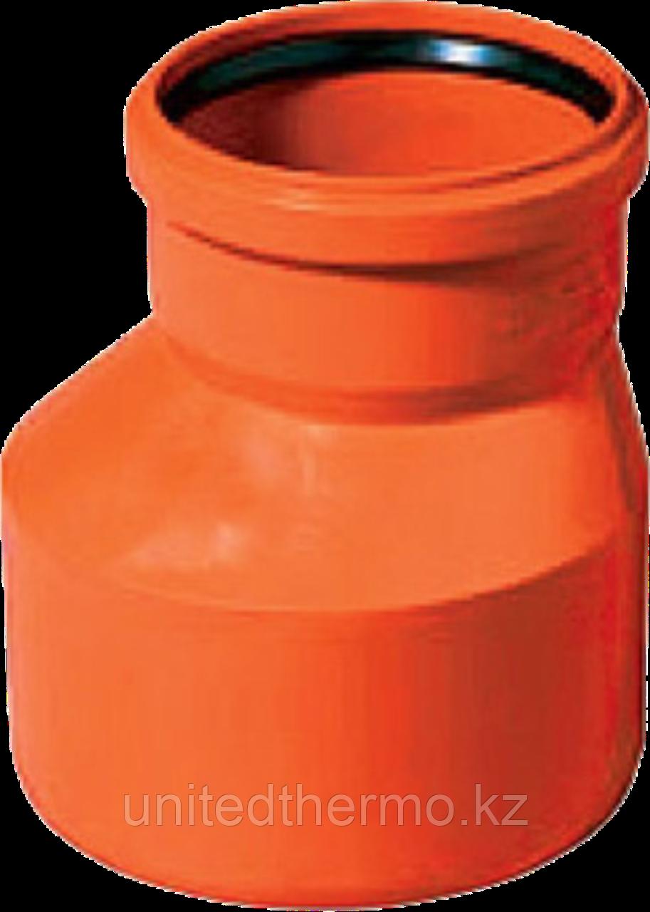 Муфта переходная ПП д160*110 (4.9мм) оранжевая