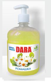 Жидкое крем-мыло с дозатором (ромашка) 500 мл