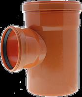 Тройник ПП д160*160*160/45 (4.9мм) оранжевый