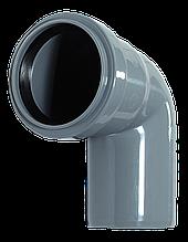 Угол ПП д50/45 (1.8мм) серый