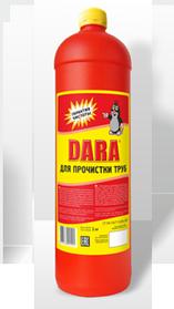 DARA для прочистки труб 1000 мл