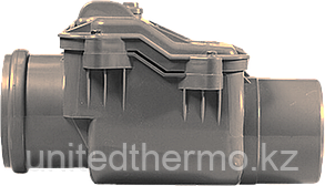Обратный клапан ПП д50 (1.8мм) серый