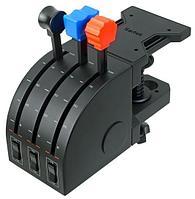 Saitek Pro Flight Throttle Quadrant рычаги управления (Black)
