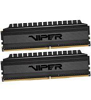 Комплект модулей памяти Patriot Viper 4 Blackout, PVB48G320C6K, DDR4, 8GB, Черный DIMM 8 GB kit 3200MHz