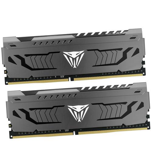 Комплект модулей памяти Patriot Viper Steel, PVS48G320C6K, DDR4, 8GB, Черный DIMM 8 GB kit <3200MHz> (2x4GB)