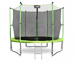 Батут ALPIN inside 3,12м с защитной сеткой и лестницей