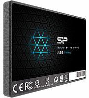 Твердотельный накопитель SSD Silicon Power A55, 256 GB SATA SP256GBSS3A55S25, SATA 6Gb/s