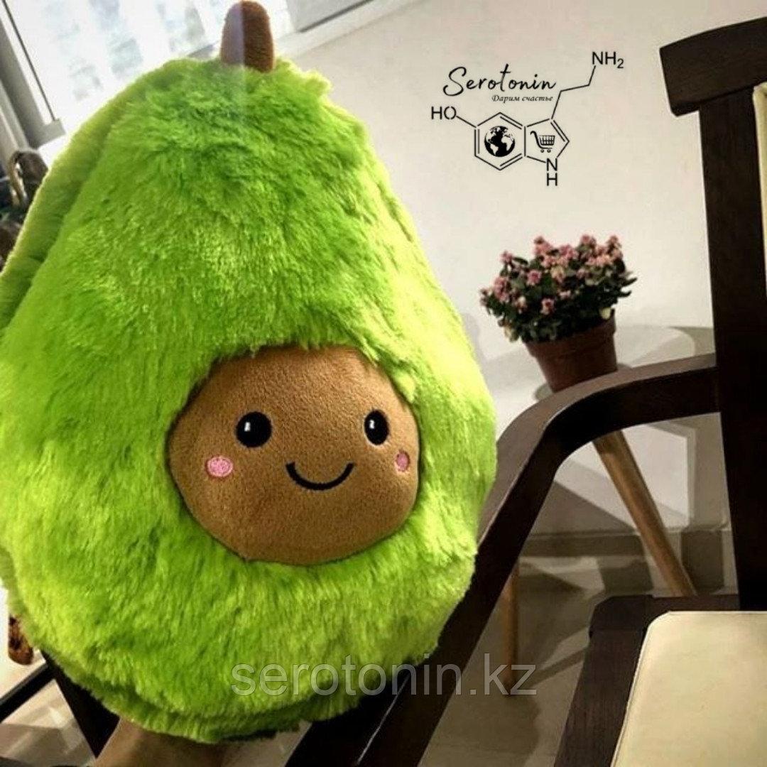 Мягкая игрушка авокадо 25 см